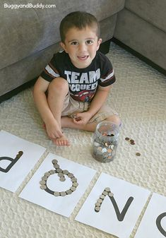 Sorting Coins Using Beginning Letter Sounds