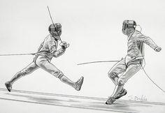 The Art of Fencing Portfolio 2009-2010 by Sascha Brock, via Behance ✤ || CHARACTER DESIGN REFERENCES | キャラクターデザイン | çizgi film • Find more at https://www.facebook.com/CharacterDesignReferences if you're looking for: #grinisti #komiks #banda #desenhada #komik #nakakatawa #dessin #anime #komisch #drawing #manga #bande #dessinee #BD #historieta #sketch #strip #artist #fumetto #settei #fumetti #manhwa #koominen #cartoni #animati #comic #komikus #komikss #cartoon || ✤