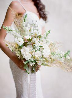 #rose, #white  Photography: Jose Villa Photography - josevillaphoto.com Wedding Gown: Emily Rose Riggs - www.emilyriggsbridal.com Wedding Gown: Lihi Hod - www.lihihod.com Floral Design: Sarah Winward  - sarahwinward.com