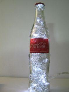 Luminária Coca-Cola   LED Branco R$59.99