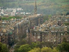 Marchmont Road, Edinburgh. Mum lived in two different flats here when she was a young.