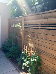 DIY Weekend Backyard Fence Project - Storefront Life