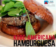Hamburguesa de Kobe Americana y Española #burger #hamburguesa #kobe