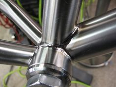 Chain stays still need a 2nd pass | Engin Cycles
