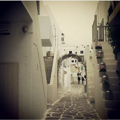 My neighbourhood ! #paros #greece