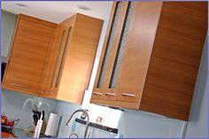 Foster City Teak veneer cabinets Kitchen Cabinets Repair, Birch Kitchen Cabinets, Classic Kitchen Cabinets, Kitchen Cabinets Pictures, Kitchen Cabinet Styles, Modern Cabinets, Kitchen Cabinet Doors, Kitchen Cabinetry, Wood Cabinets