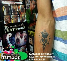 Inked Lord buddha Placement :-forearm  Tattooed by Vikrant  Call for Appointment 9765626735 #buddhatattoo #buddha #forearmtattoo