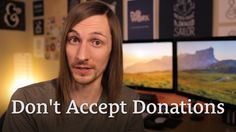 Why It Might Be Short-Sighted to Accept Donations if You Want to Make Money http://seanwes.tv/152