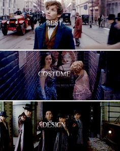 Congratulations to Colleen Atwood for winning Best Costume Design for Fantastic Beasts and Where to Find Them