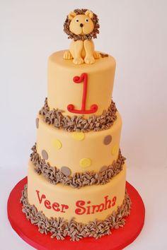 First Birthday Cakes- Lion Custom Cakes Custom Birthday Cakes, First Birthday Cakes, Custom Cakes, Lion Birthday, Birthday Bash, Birthday Ideas, Cupcakes, Cupcake Cakes, Beautiful Cakes