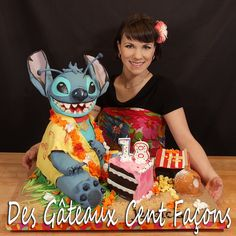 Stitch cake gateau de stitch Disney cake | Flickr - Photo Sharing!