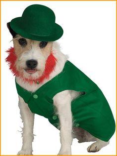 St Patrick's Day Lephrechaun Costume for Dogs HalloweenCostumes4u.com $14.25