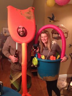 Shovel And Pail Costumes Perfect For Beach Theme Party Or Halloween