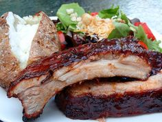 Baby Back Ribs: 2 racks, your favorite rub, a 12 oz. Coca-Cola, sweet Baby Rays BBQ sauce and Heavy duty aluminum foil.  Mamas-southern-cooking.com.