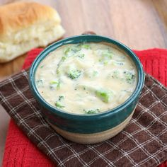 Broccoli Cheese Soup | The Girl Who Ate Everything