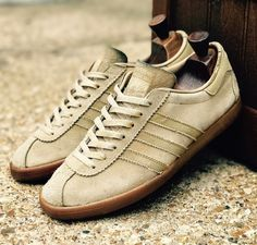 Adidas Saratoga in 'sand suede colourway'