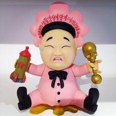 Baby Huey Pink Edition by Frank Kozik is 25% off today! #dailydeal #kidrobot #babyhuey #kozik #art #toy #arttoy #vinyltoys #designertoys #mindzai #markham #toronto