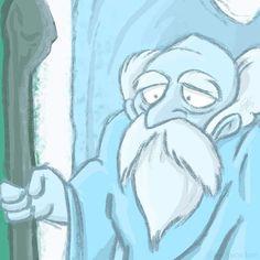 207 - Old Man in the Cave #art #artwork #legendofzelda #oldman #itsdangeroustogoalone