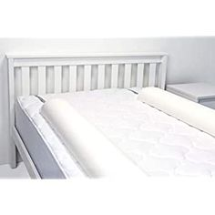 Perfect for your Baby and Nursery Regalo Double Sided Extra Long Toddler Bed Rail Bumper Foam Safety Guard for Bed, Bonus Kit, Includes Waterproof Cover and Reinforced Anchor Safety System, White,Regalo Double Sided Extra Long Toddler Bed Rail Bumper Foam Safety Guard for Bed, Bonus Kit, Includes Waterproof Cover and Reinforced Anchor Safety System, White, PORTABLE: The patented roll up...