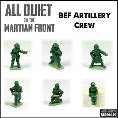 ALL QUIET ON THE MARTIAN FRONT ARTILLERY CREW