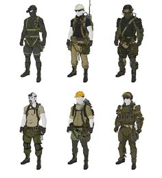 Rocketumblr | ajtron: Concept art for Metal Gear Online