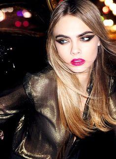 #Belleza Los ojos con sombra extra, cejas bien marcadas y  labios fucsias, son la tendencia para las fiestas.