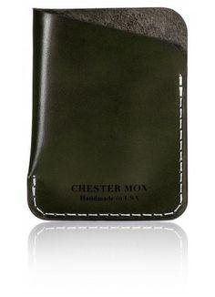 c0471235fc67  101 Horse Front Forest Green Dogleg Wallet Slim Wallet