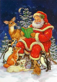 LEANIN' TREE - CHRISTMAS CARDS - Christmas card 7748 by Donna Race, 1996
