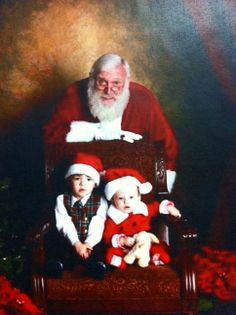 Happy photos with Santa - on Natascha Palmer's door at CCTSI in the Leprino Building #CUHSLibrary