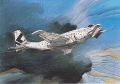 Sorte d'avion Enki Bilal