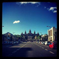Avenida Maria Cristina (Tomada con Instagram)