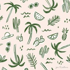 Jen B. Peters - Palm Springs Pattern