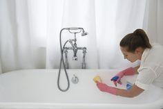 Методы очистки ванной: налет, ржавчина, потемнение 0