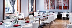 Le Meridien Philadelphia: Get your French fix at the on-site restaurant, Amuse, mixing the classics with modern flair.