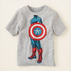 baby boy - graphic tees - Captain Avenger graphic tee | Children's Clothing | Kids Clothes | The Children's Place
