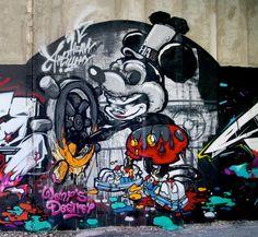 Graffiti art by Mr. Wany  http://www.wanyone.com/