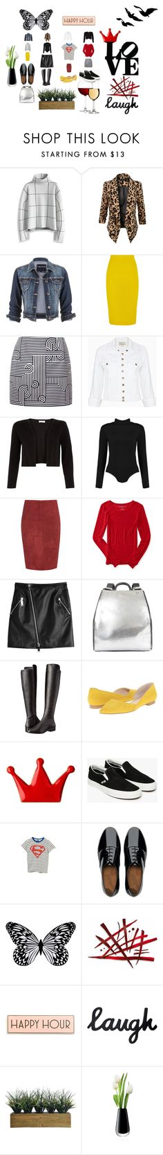"""HAPPY HOUR"" by rosastreet on Polyvore featuring moda, Chicwish, LE3NO, maurices, J.Crew, Victoria, Victoria Beckham, Current/Elliott, Monsoon, Jitrois e Aéropostale"