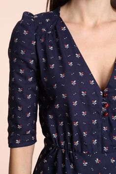 Sessun Beauvoir Floral '40s Dress £150.00