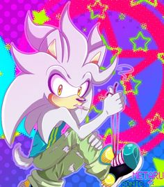 Silver the hedgehog cool