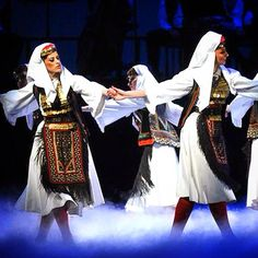 Serbian traditional costume from Glamoč , Bosnia ansambl KOLO