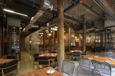 Gwanghwamun Mongro restaurant by Gongsang Planet Seoul  Korea