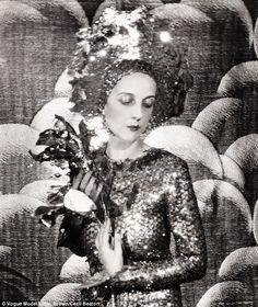 taken by photographer Cecil Beaton in 1928, the photo shows society beauty Paula Gellibrand