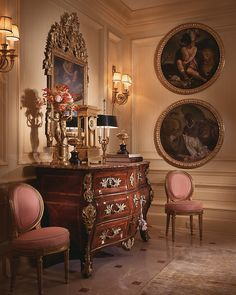 William R. Eubanks, Timeless Interiors: Delightful Liaisons - Eubanks combines century France with a fresh, updated palette for drop-dead-gorgeous results Home Interior Design, Decor, Interior Design, House Interior, Furniture, Foyer Decorating, French Decor, Interior, Elegant Homes