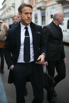Classic men's style.