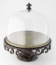Artimino Tuscan Countryside Footed Cake Plate #Dillards  GOT ONE SIMILAR!