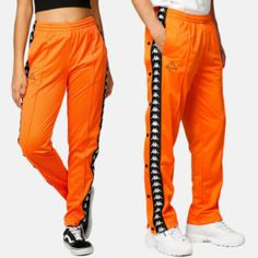 Junkyard – We are Fashion, Street and Sports Kappa, Parachute Pants, Unisex, Sport, Black, Fashion, Scale Model, Moda, Deporte