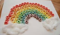 Rainbow Cheerios