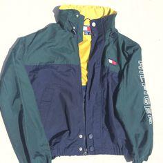 26dd28d2dfaf Vintage Tommy Hilfiger Sailing Windbreaker Jacket Retro, Windbreaker Jacke,  Tommy Hilfiger, Jacken,