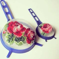 Hand Embroidery Videos, Rose, Cross Stitch, Pink, Roses