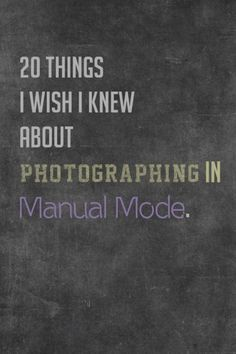 Manual mode photo tips. Most helpful info- Steps to setting up in manual: First set white balance, second set ISO, then set aperture, and finally your shutter speed. 20 tips. Photography Lessons, Photography Camera, Photoshop Photography, Photography Business, Image Photography, Photography Tutorials, Digital Photography, Photography Hashtags, Bella Photography